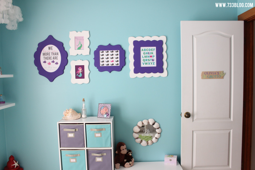 Little Girl's Room Gallery Wall