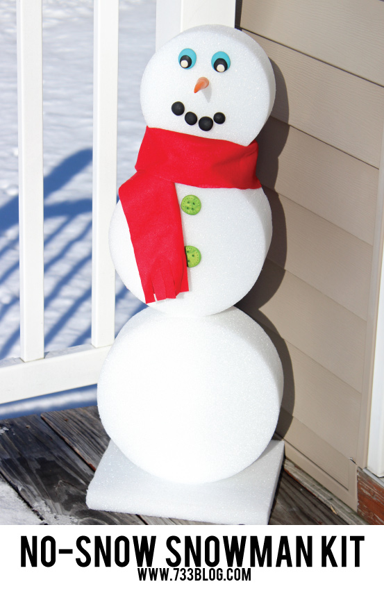 No-Snow Snowman Kit