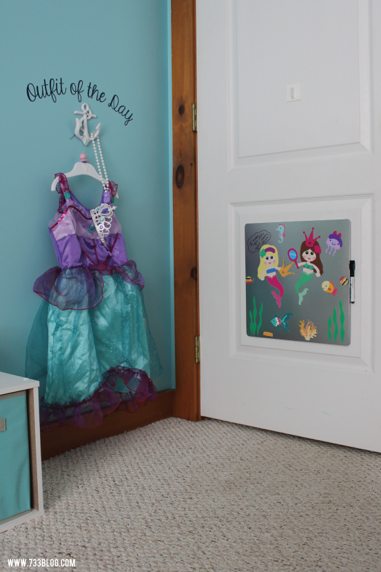 DIY Outfit of the Day and Magnetic Dry Erase Board