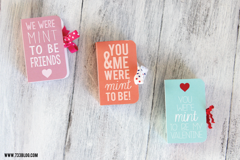 Free Printable Tic Tac Valentine's Day Cards