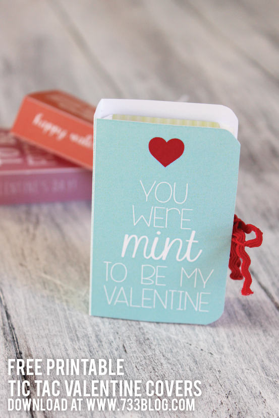 "Tic Tac ""Mint to Be"" Classroom Valentine's"