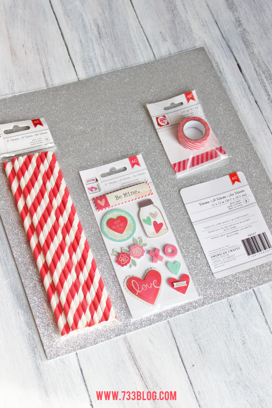 Valentine's Day Embellishments from @Target