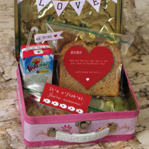 Printable Valentine's Lunch Kit