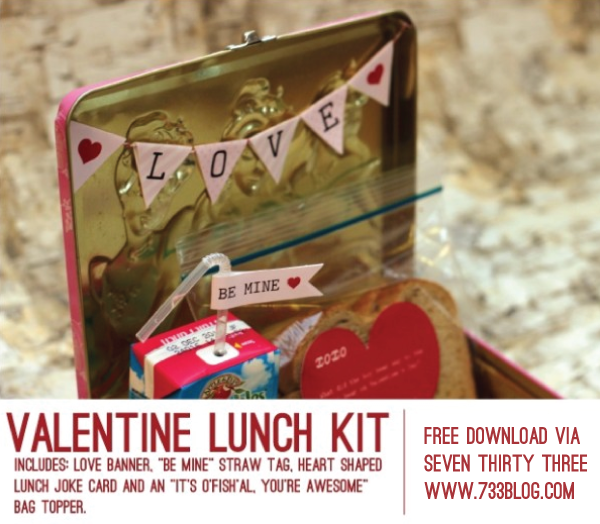 Valentine Lunch Kit