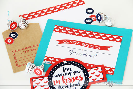 DIY Open When... Letters