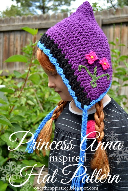 FROZEN Inspired Anna Hat from Over the Apple Tree