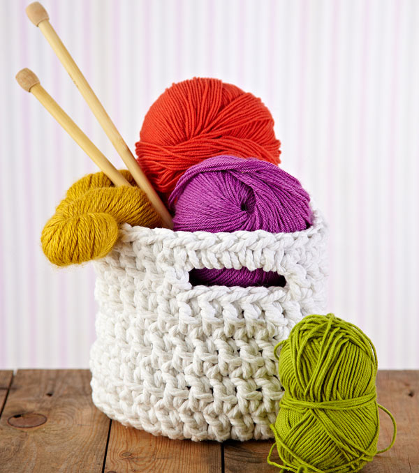 Crochet Basket by Mollie Makes
