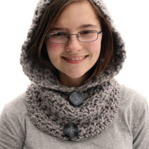 Hooded Cowl #projectcrochet