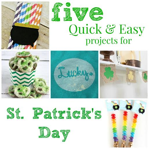 5 Quick and Easy St. Patrick's Day Project