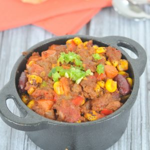 Crockpot Hidden Veggie Chili