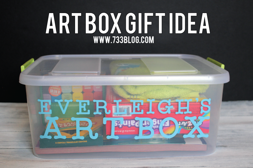 DIY Art Box