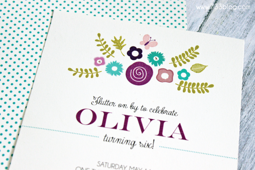 Free Printable Butterfly Birthday Invite