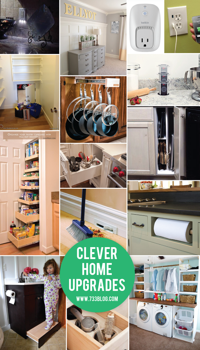 Clever Home Upgrade Ideas