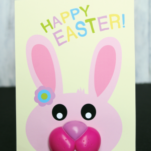 Easter Bunny Mouth Lollipop Cards