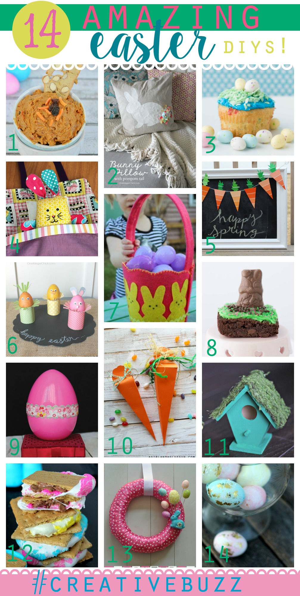 14 DIY Easter Projects