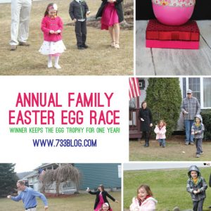 Family Easter Egg Run