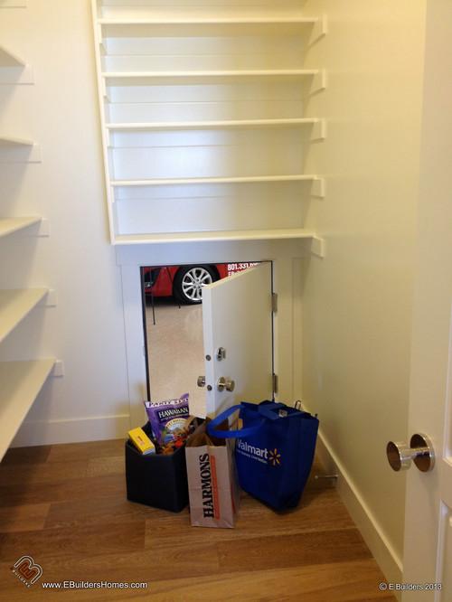 Garage to Pantry Door