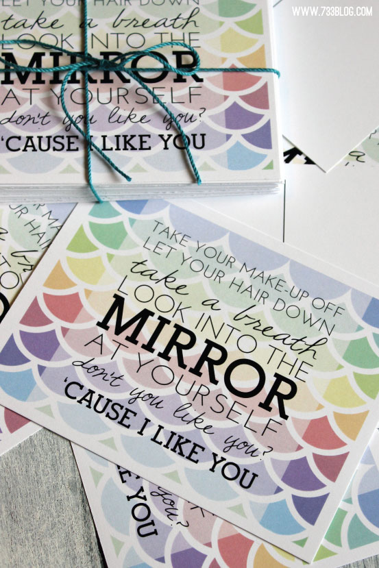 Colbie Caillat's Try Lyrics Postcard Printable