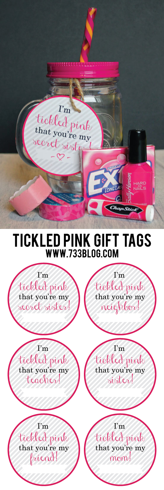 Tickled Pink Gift Idea Inspiration Made Simple