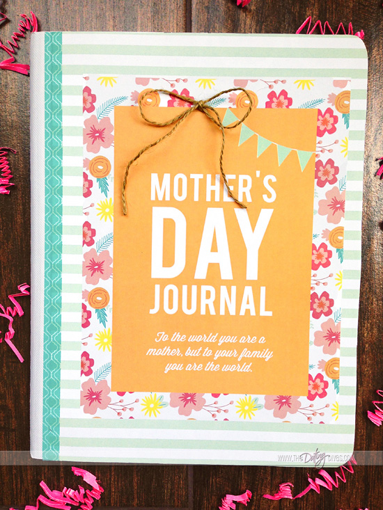 Modern MOMents Printable Journal