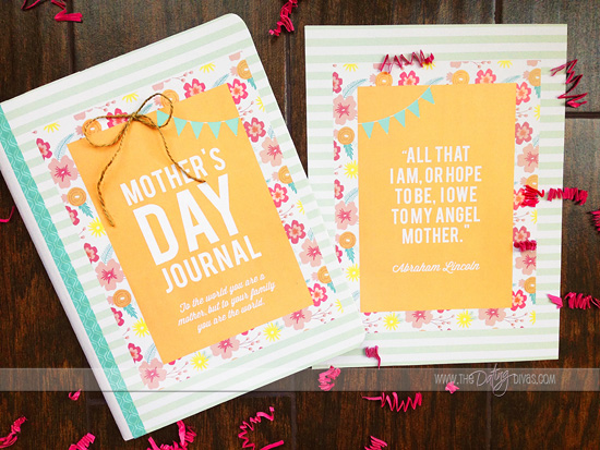 Mother's Day Gift Idea Printable Pack