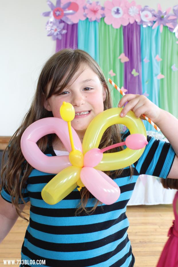 Butterfly Balloon Animal
