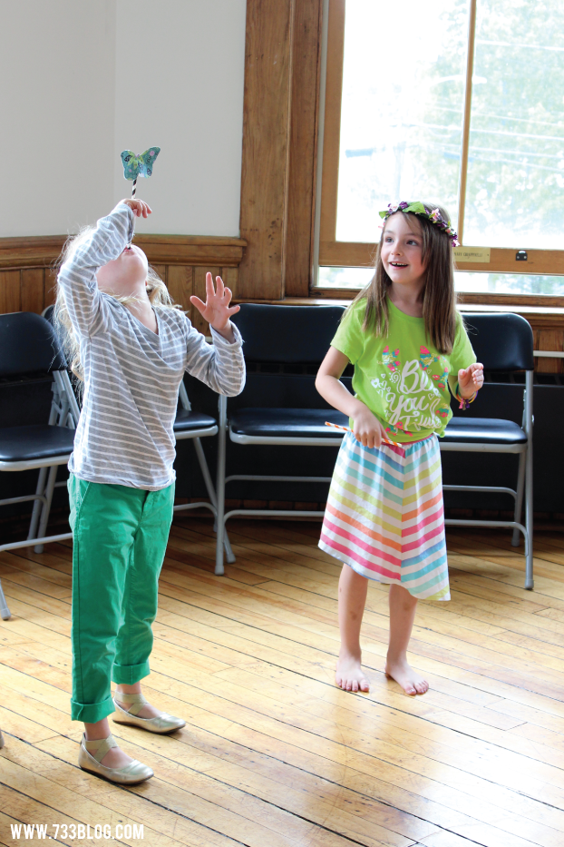 Butterfly Straw Shooters Party Activity