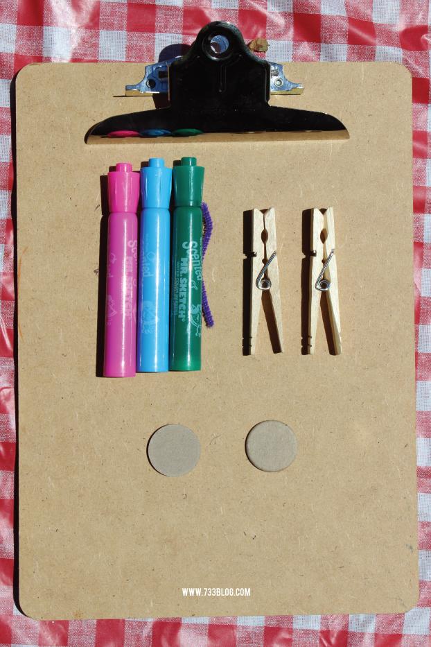 Clothespin Kids Craft