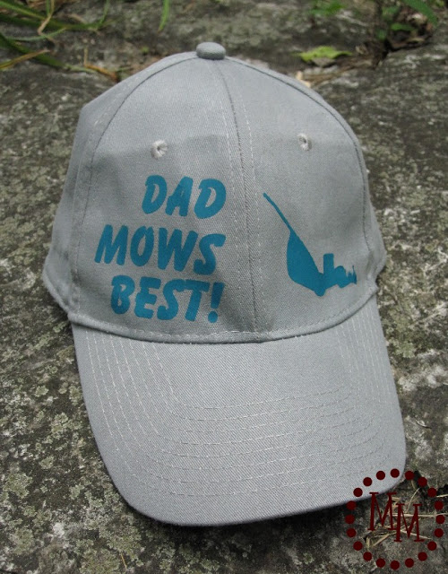Dad Mows Best Hat