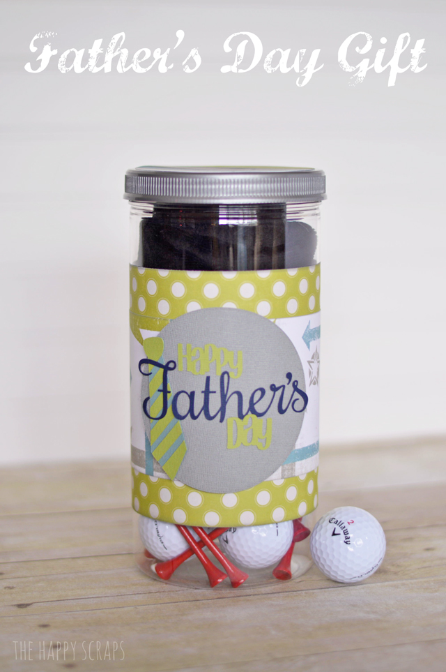 Father's Day Golf in a Jar Gift