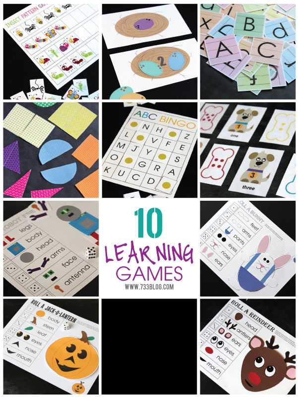 Printable Learning Games