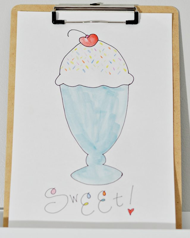 painted sundae