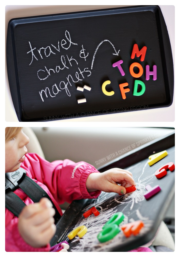 DIY Kids Travel Activity Board