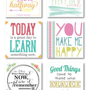 Printable Journaling Cards – Collection 2