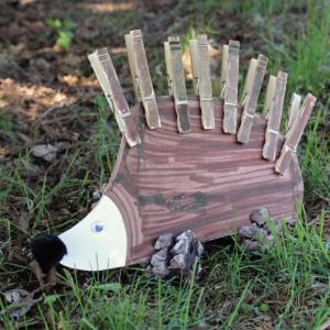 Paper Plate Hedgehog Kids Craft
