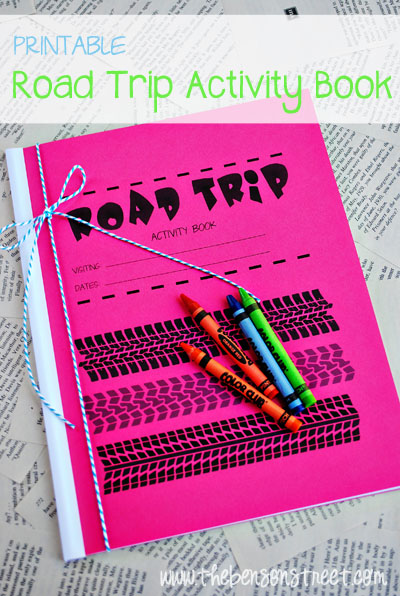 Printable Road Trip Activity Book
