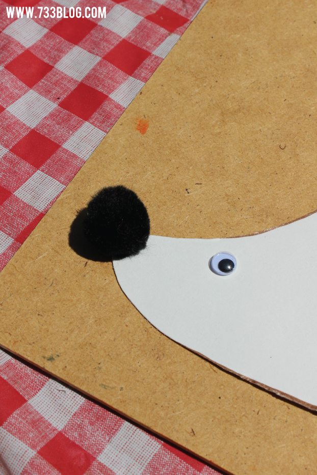 Paper Plate Hedgehog Kids Craft