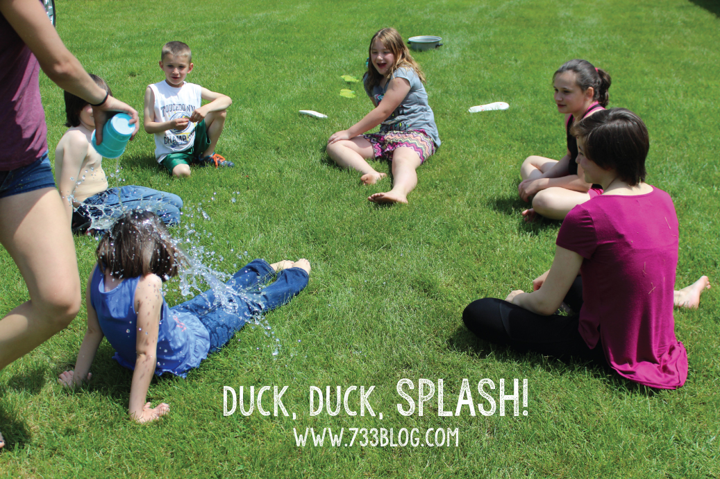 Duck, Duck, Splash Summer Children's Game