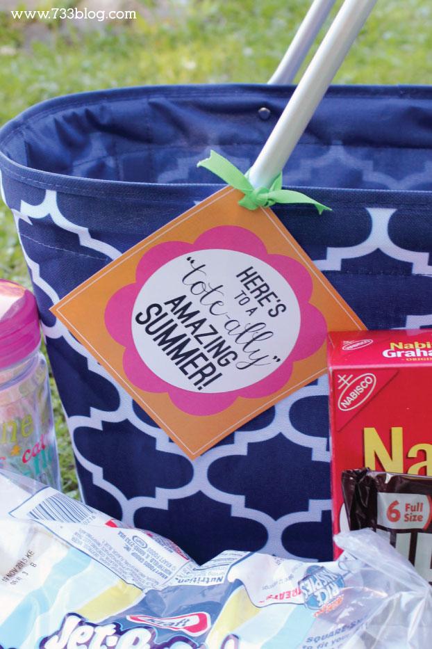 Teacher Thank You Gift Idea with Free Printable