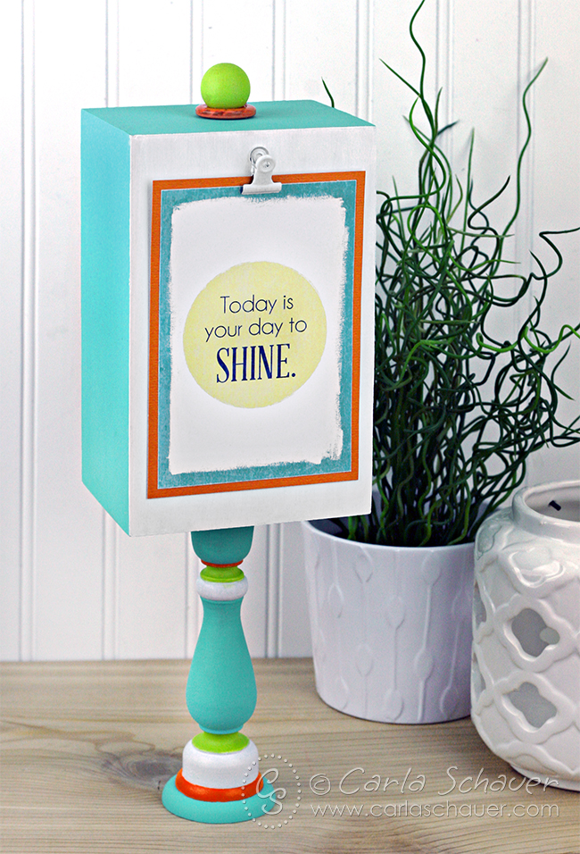 DIY Photo Display Stand