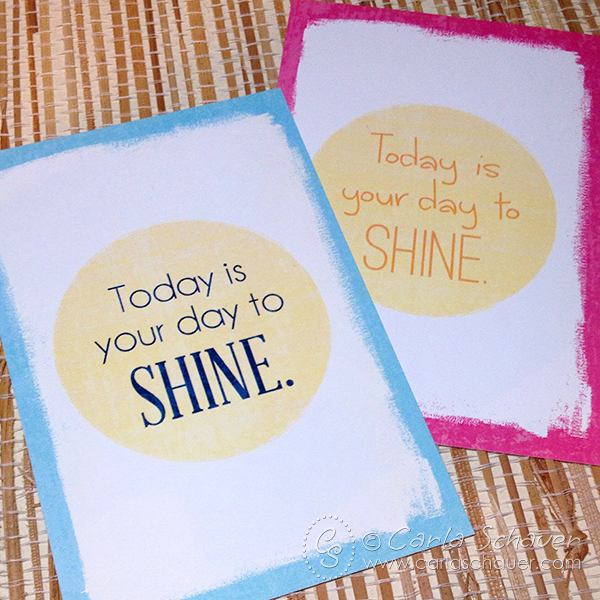 Shine Printables