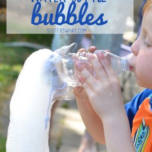 Water Bottle Bubbles