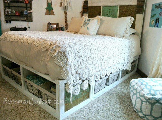 Pottery Barn Knockoff Bed