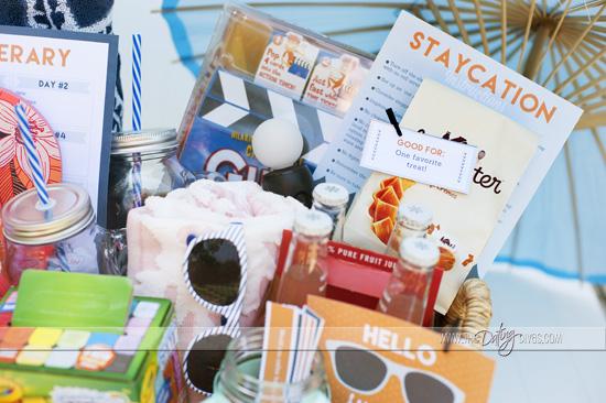 Staycatin Kit Idea