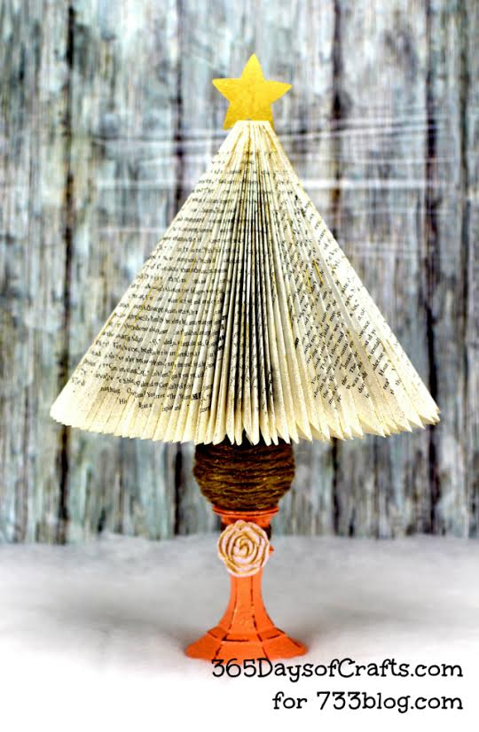 Christmas Tree Book Craft