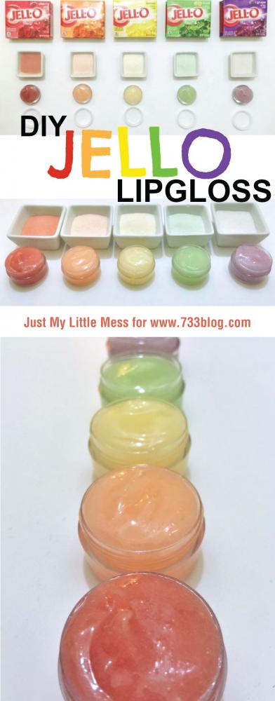 DIY Jello Lipgloss