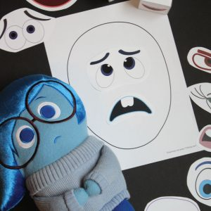 Printable Emotions Mix-Up Game
