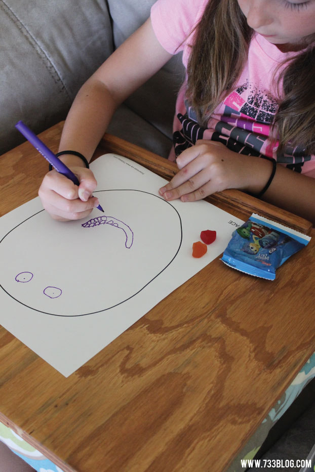 Inside Out Inspired Emotions Mix-Up Game