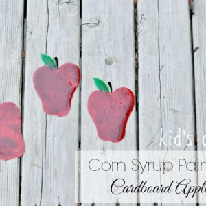 Painting With Corn Syrup Paint