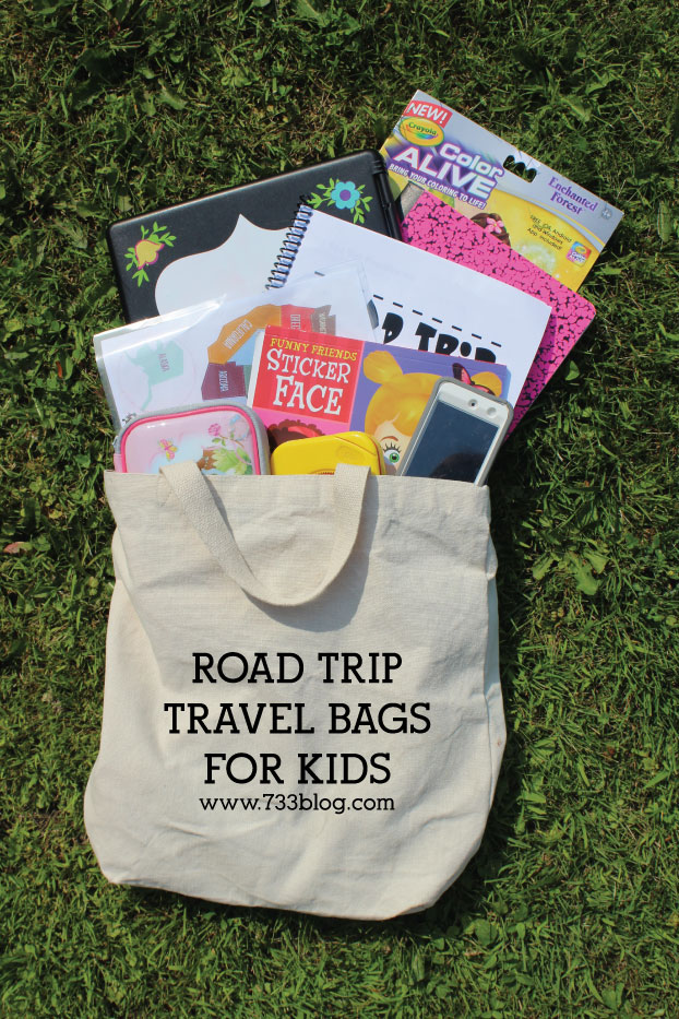Road Trip Travel Bags for Kids